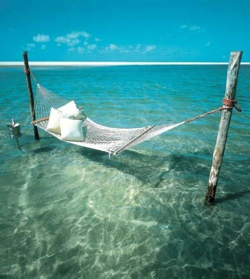 Tranquility: Water, Spaces, Beaches, Favorite Places, Hammocks, The Ocean, Book, Places I D, Heavens