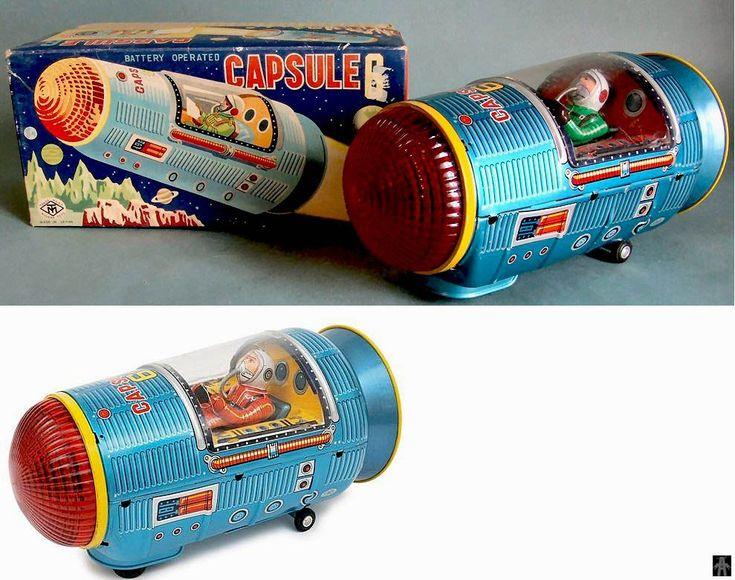 Japanese Capsule Toys : Space capsules capsule masudaya japan alphadrome