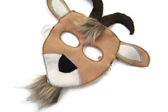 Ziege Maske Maske der Ziegenbock Anzieh Tier von fAverittecreations
