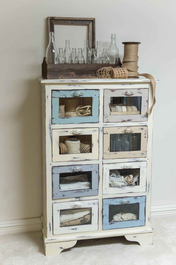 Les 25 meilleures id es de la cat gorie tiroirs peints sur - Peinture a la craie pour meuble ...