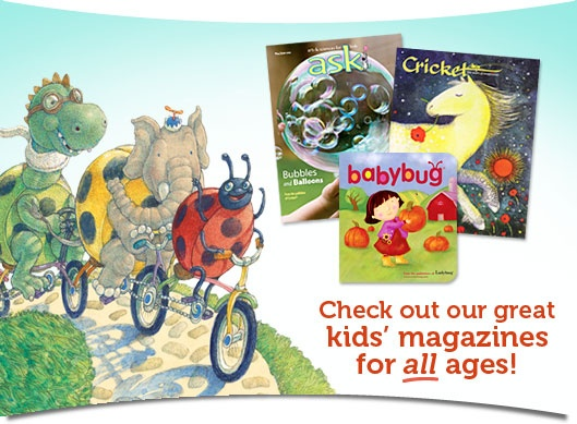 Children's Magazines, Ebooks, Toys and More | CricketMag.com
