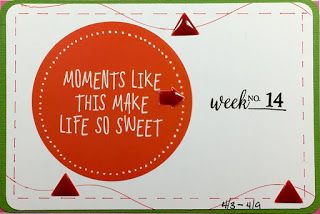 Sketches in Thyme Project Life Style: Felicia's Take on Sketch #55...