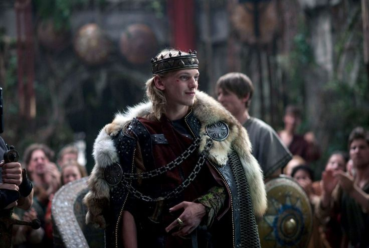 Jamie Campbell Bower as King Arthur in Camelot, 2011