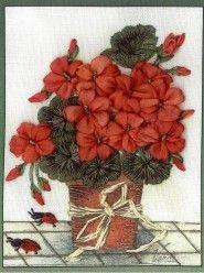 Красная герань. Коллекция Миниатюры