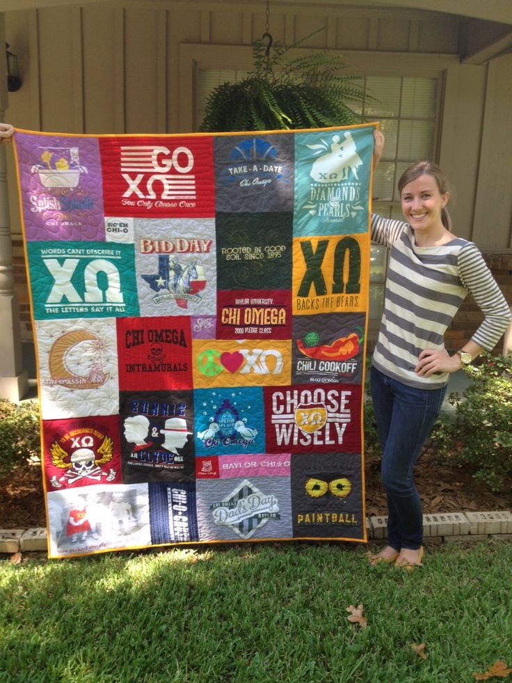 T Shirt Quilt uneven block size, no sashing T shirt quilt Pinterest Quilt, Pictures of and ...