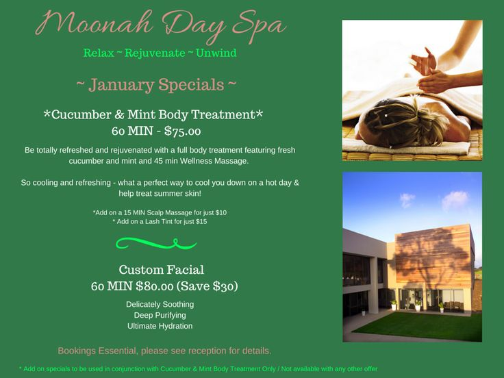 Melbourne it's going to a hot one tomorrow, why not Relax, Rejuvenate & Unwind at our Day Spa and enjoy a cucumber & mint body treatment - 60 mins $75  #moonahlinks #moonahdayspa #morningtonpeninsula #hotdays