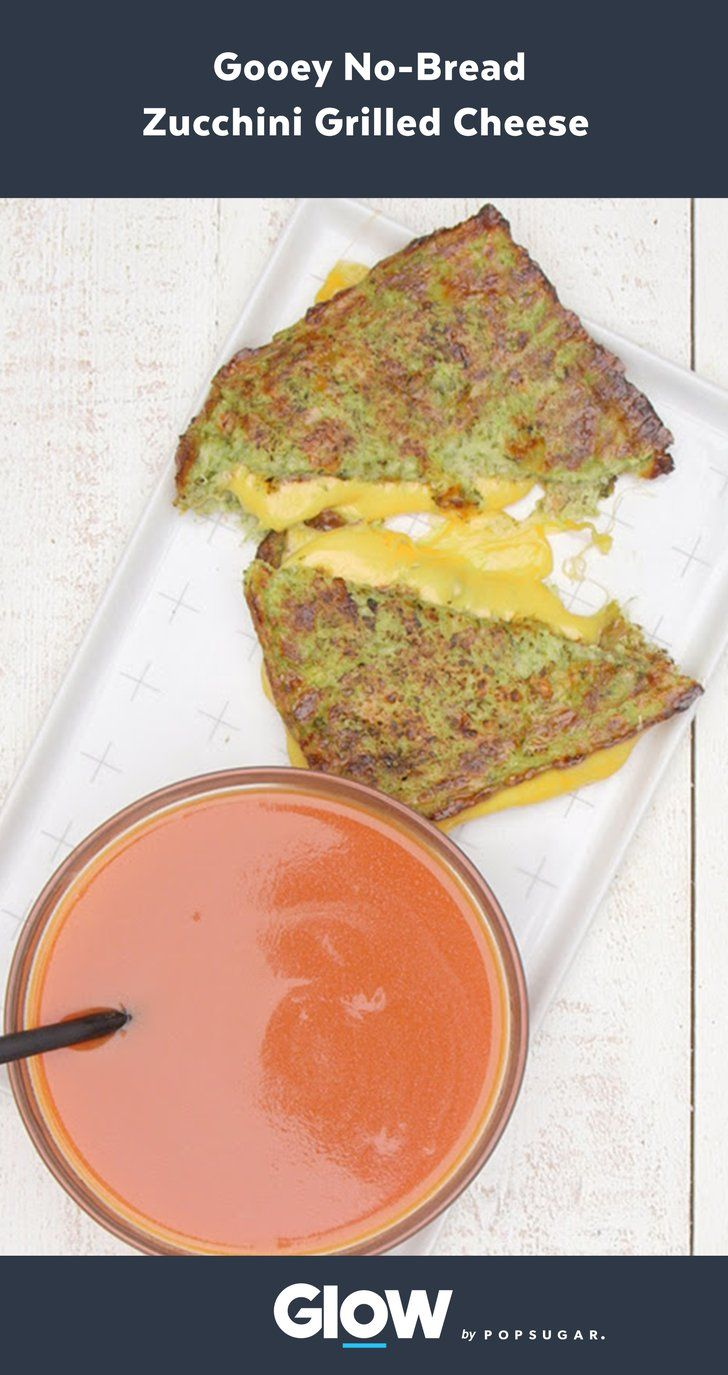 Prepare to Be Obsessed With This No-Bread Zucchini Grilled Cheese