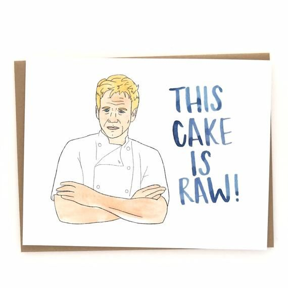 On Vacation Orders Will Resume 3 2 20 Gordon Ramsay Birthday Card