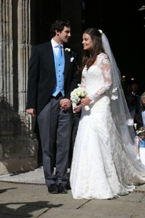 Lady Natasha Rufus Isaacs Married Rupert Finch At John The Baptist Church Cirencester On 8 June