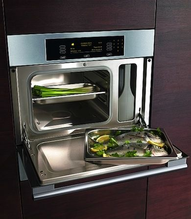 New Technology Steam ovens are hot items on the market. Today's consumer is  becoming more. Cooking AppliancesKitchen ...