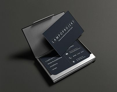 "Check out new work on my @Behance portfolio: ""Business card and logo…"