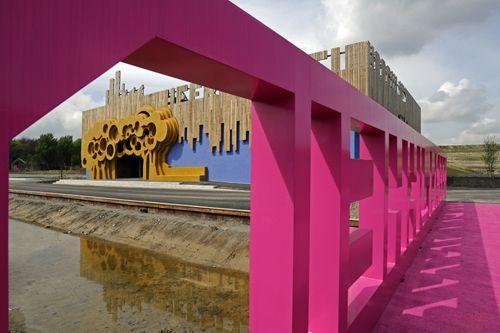 The Villa in The Netherlands by Fat Architecture: Architecture Amazing Design, Community Building, Design Milk, Heerlijkheid Parks, The Netherlands, Heerlijkheid Hoogvliet, Fat Architecture, Architecture Design, Design Blog