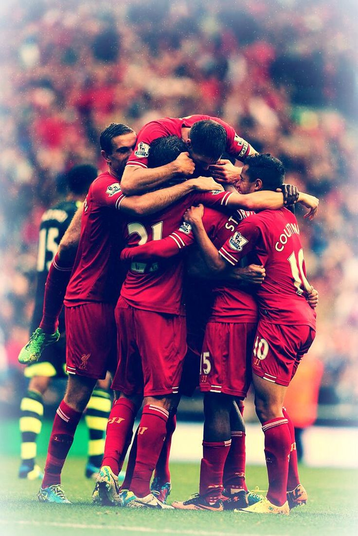Tons of great pics today but this is by far my favorite. It really doesn't get much better than this. #LFC