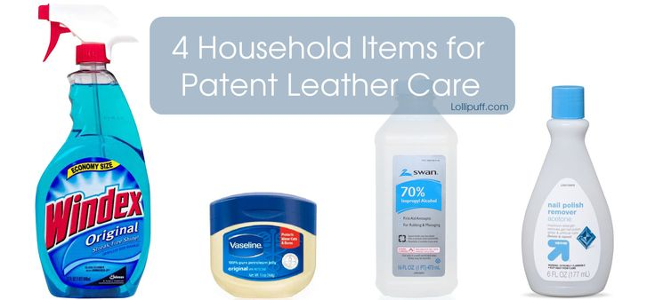 Did you know that these common household items can clean and remove stains and scuffs of your beautiful patent leather bags or shoes?