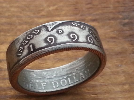 Hey, I found this really awesome Etsy listing at https://www.etsy.com/listing/261897853/1996-half-dollar-coin-ring-20th-birthday