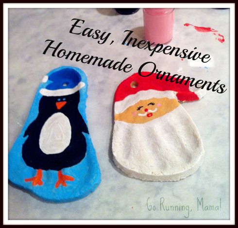 Homemade Salt Dough Ornaments- Easy, Inexpensive Homemade Gifts