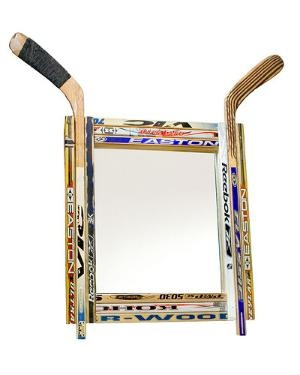 HOCKEY STICK MIRROR   Sports, Ice Hockey   UncommonGoods