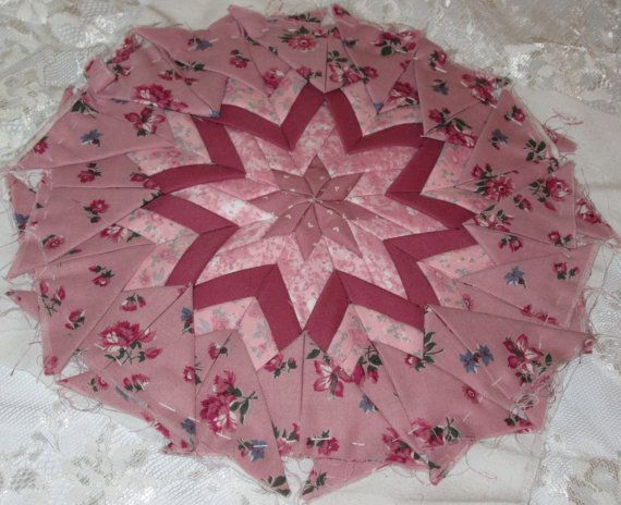 79 best Folded Star images on Pinterest   Things to do, Carpets ... : folded quilt blocks - Adamdwight.com
