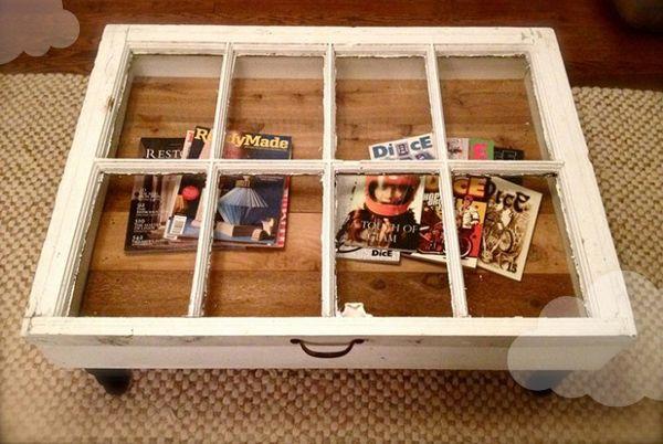 Viete, že staré okná sa dajú premeniť na niečo úžasné?