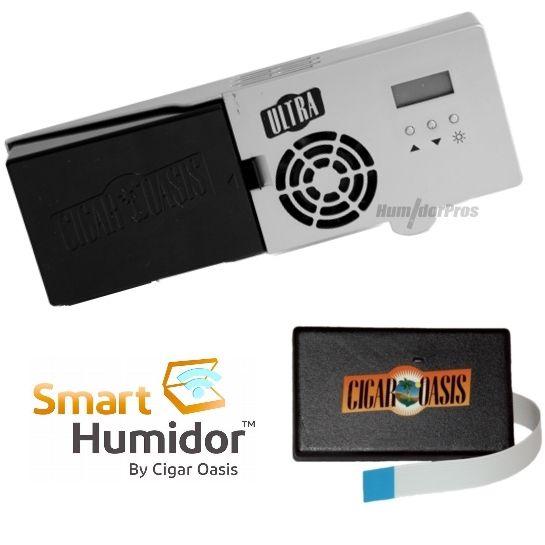 How Smart Is Your Humidor?  Smart Humidor Ultra 2.0 by Cigar Oasis, $185.95 @Cigar_Oasis #SmartHumidor #Cigars(http://www.humidorpros.com/smart-humidor-ultra-2-0-by-cigar-oasis/)