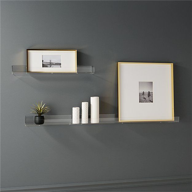 Acrylic Wall Shelves Cb2 Acrylic Wall Shelf Floating Shelves Bathroom Wall Decor