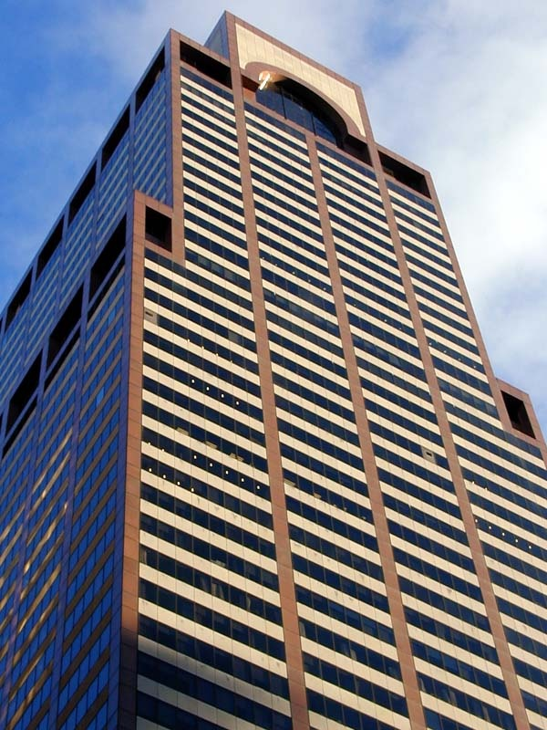 AXA Equitable Center at 787 Seventh Ave. Midtown, NYC