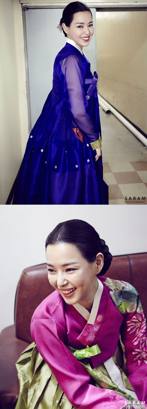 이하늬 한복 hanbok, Korean traditional clothes