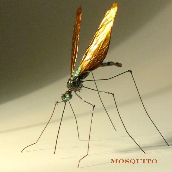 mosquito metal sculpture #sculpture #metal