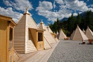 Teepee, Area 47, Tyrol, Austria