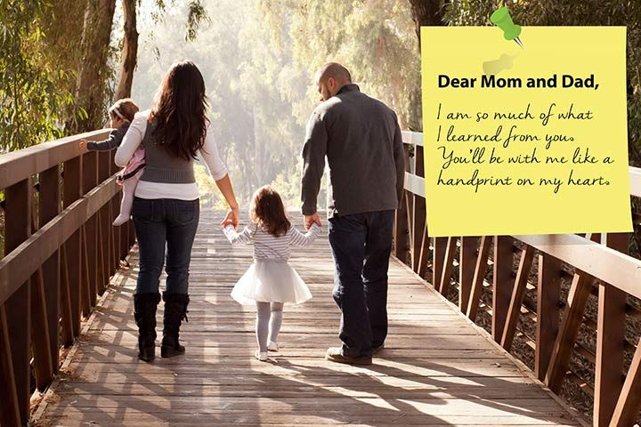 Thank You Quotes For Parents