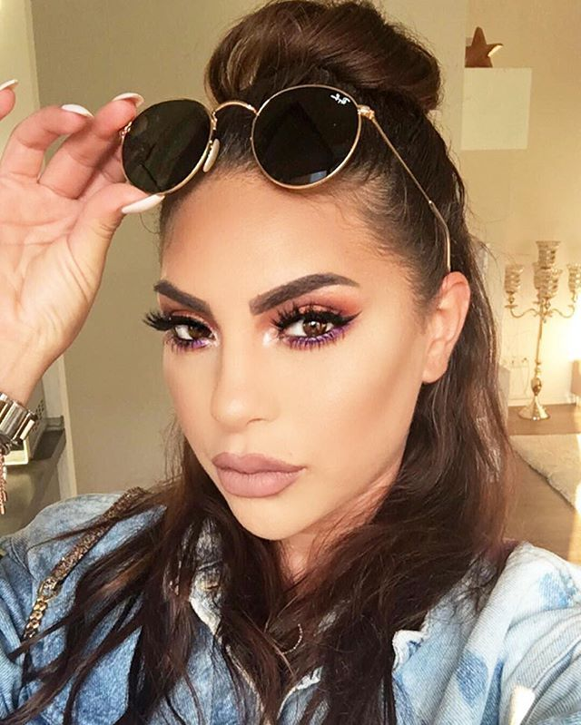 Pin for Later: 13 Middle Eastern Beauty Gurus We Can't Stop Watching Hanadi Diab