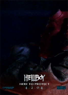 Hell Boy Animated Movie Posters or Guillermo Del Torro films