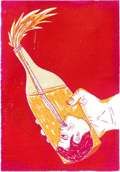 Libertad de expresión - Ilustración   Joan X. Vázquez   Illustration