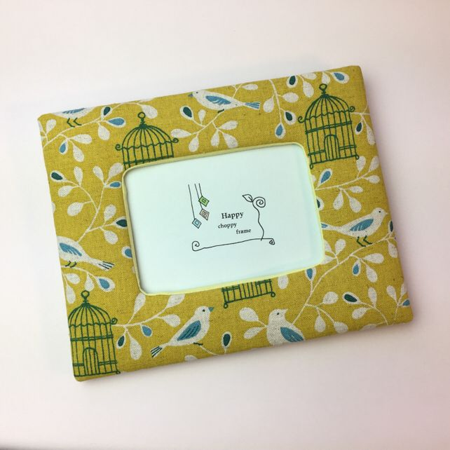 小鳥と鳥カゴの可愛いプリント 写真立て 壁飾り インテリア雑貨 誕生日プレゼント(¥2,460)がフリマアプリ フリルで販売中♪ #fril #フリマ