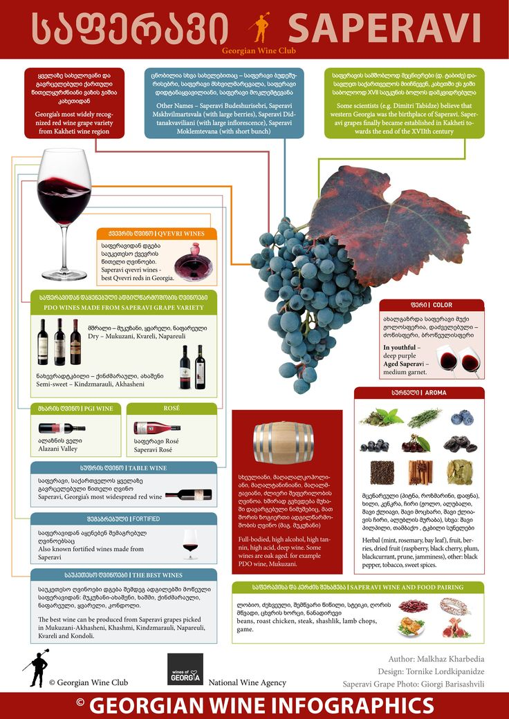 Georgian Wine Infographics - New project of the Georgian Wine Club and National Wine Agency | Marani