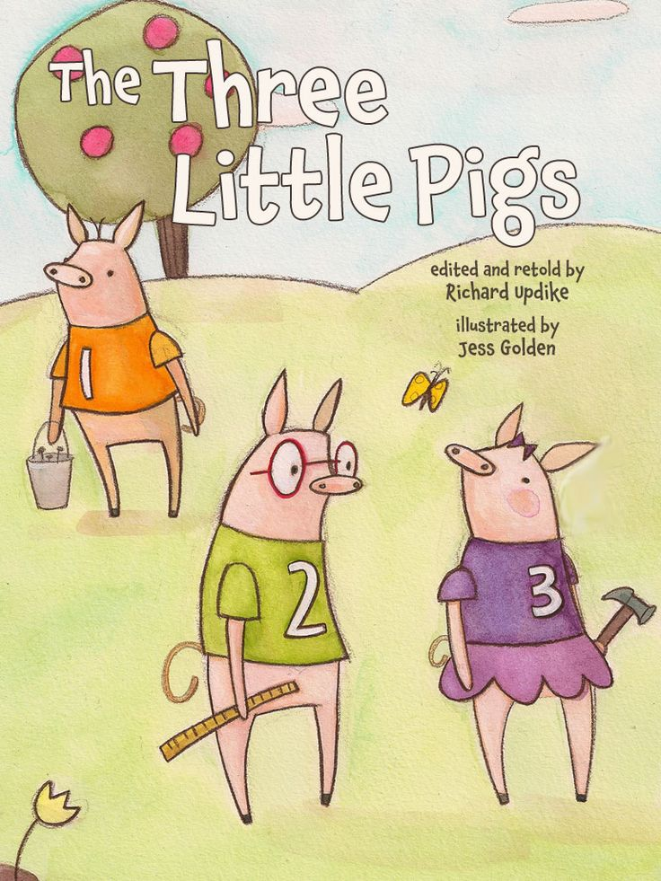 """The Three Little Pigs"" | MeeGenius"