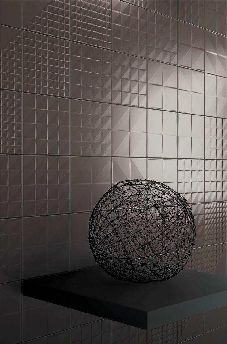 Double-fired ceramic wall tiles TEKNE by @bardelli  #design Daniele Bedini