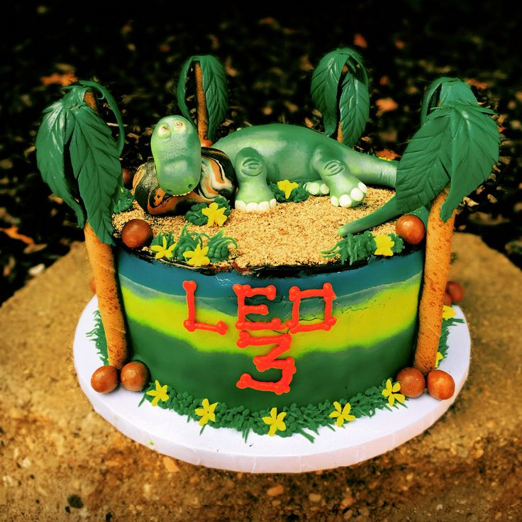 3rd Birthday Cakes, The Good Dinosaur And 3rd Birthday On