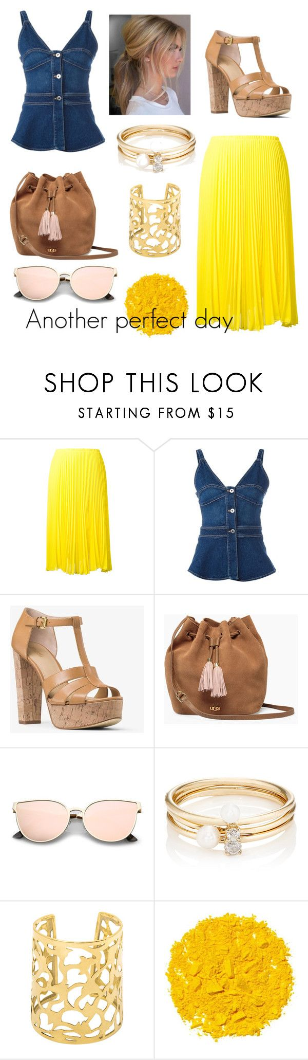 """""""Another perfect day"""" by fashiondesignpassion ❤ liked on Polyvore featuring Loyd/Ford, STELLA McCARTNEY, MICHAEL Michael Kors, UGG, Loren Stewart and Illamasqua"""