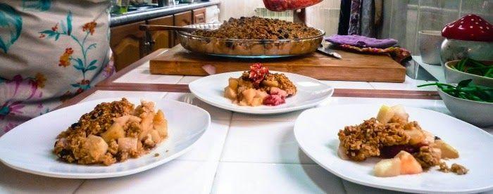 Porque a aveia também serve para fazer doces deliciosos. Para o pequeno almoço ou sobremesa fica uma receita especial de uma miúda especial: Marta Varatojo.