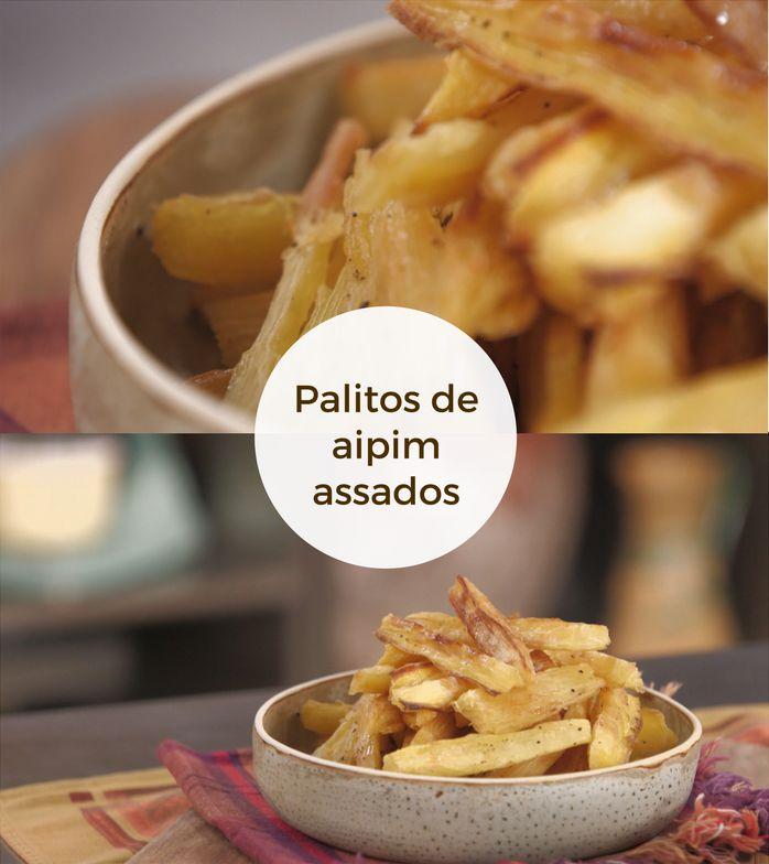 No forno, aipim fica mais crocante com menos trabalho – e é tão saboroso quanto o frito.