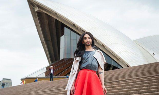 Conchita in Australien