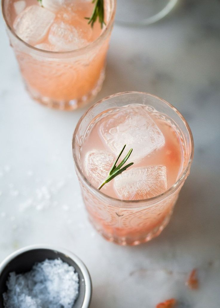 west elm - Grapefruit Rosemary Spritzer by Tessa Huff