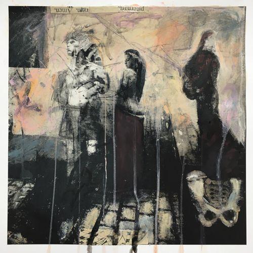 mixed-media auf digital works/ Fineartpaper : Jaya Suberg