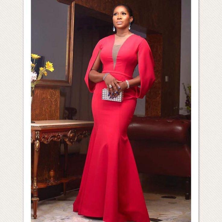 Checkout Stephanie Okereke- Linus's red hot look to #Amaa2017 - Wedding Digest Naija