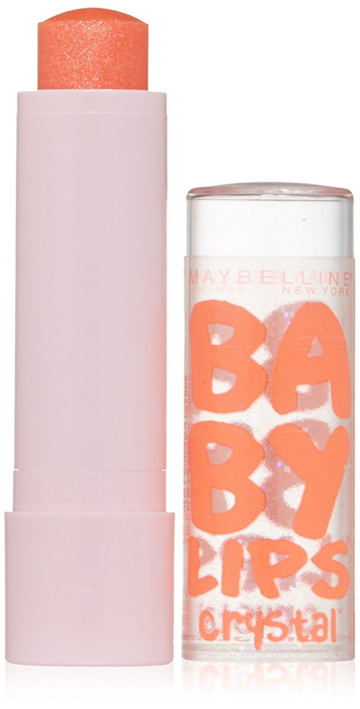 Maybelline New York Baby Lips Crystal Lip Balm, Gleaming Coral, 0.15 Ounce *** Don't get left behind, see this great  product : Lip Care