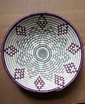 "Rwanda Basket, 12"" Thousand Hills Fruit Bowl"
