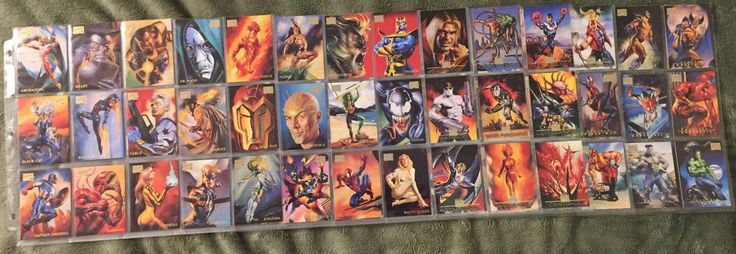 1996 marvel #masterpieces base set - 100 cards - #boris #vallejo - julie bell ,  View more on the LINK: 	http://www.zeppy.io/product/gb/2/162368028892/