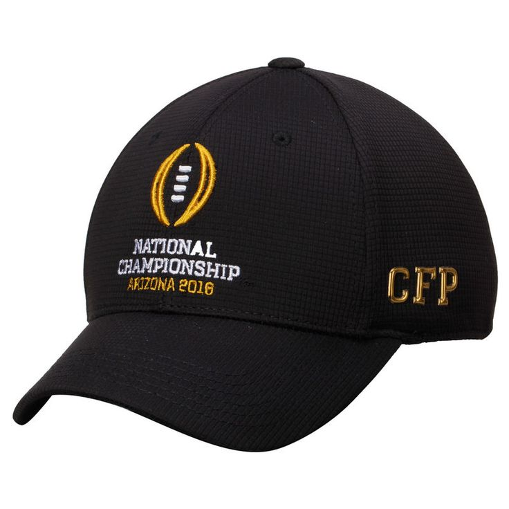 2016 College Football Playoff National Championship Game Top of the World 1Fit Flex Hat - Black