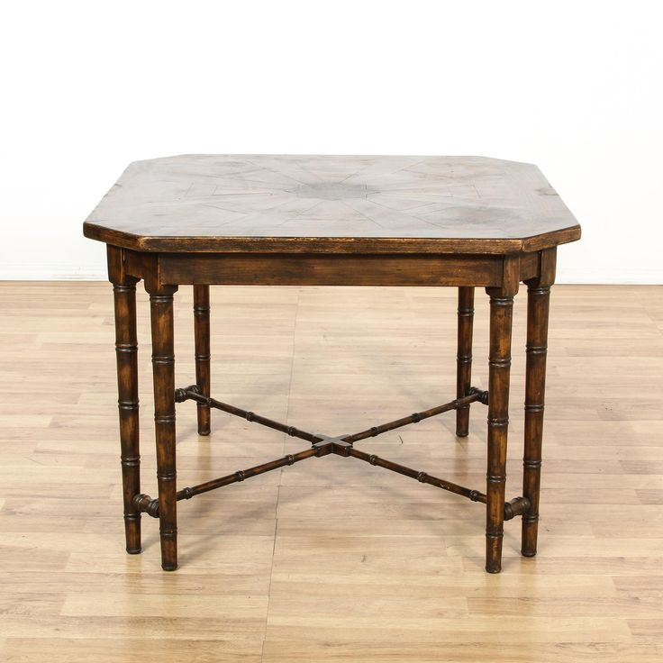 Perfect This Provincial Style Breakfast Table Is Featured In A Solid Wood With A  Glossy Walnut Finish